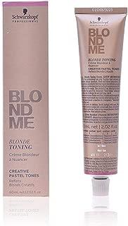 Schwarzkopf Professional Blondme Blonde Toning Tone Ice Hair Treatment – 60 ml