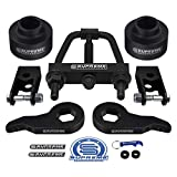 Supreme Suspensions - Full Lift Kit for 2000-2006 Suburban & Tahoe and GMC Yukon 1500 Adj. 1-3' Front Lift Torsion Keys + 2' Rear Lift Spring Spacers + Shock Extenders + Torsion Tool 6-Lug 4WD