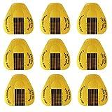 Rotolo Cartine Oro 200 Pezzi Sagome per Unghie Cartine per Unghie Adesivi per Estensione Unghie Nail Art per Ricostruzione Allungamento per Unghie Acriliche e Unghie in Gel