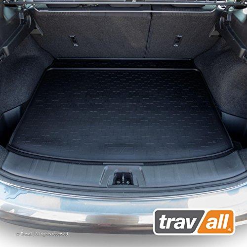 Travall Liner Tapis en Caoutchouc Compatible avec Nissan Qashqai (2013 et Ulterieur) TBM1116 - Tapis de Coffre en Caoutchouc sur Measure