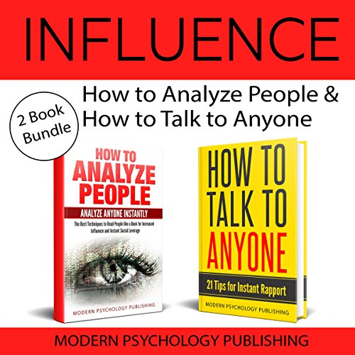Influence: 2 Book Bundle audiobook cover art