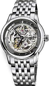 Oris Artelier Skeleton Dial Stainless Steel Mens Watch 01 734 7684 4051-07 8 21 77 image