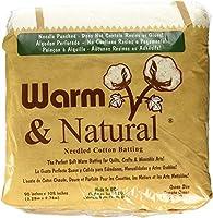 Warm Company Warm Company ウォーム&ナチュラルコットン バッティングクイーンサイズ 90インチX108インチ