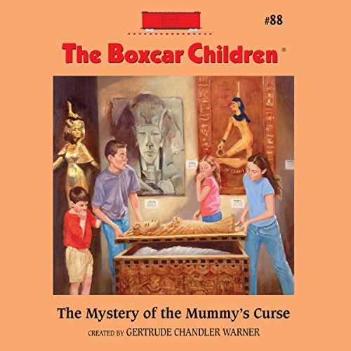 The Mystery of the Mummy's Curse audiobook cover art
