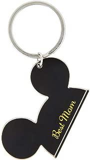 Walt Disney World Mickey Mouse Ears Best Mom Metal Keychain