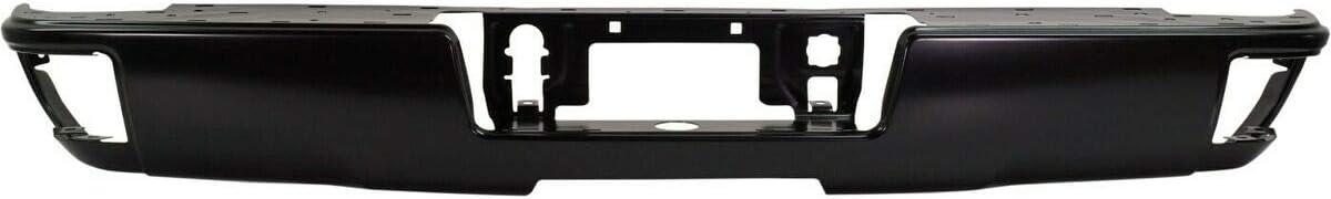 Step Max 81% OFF Bumper Rear Face Bar Compatible 1 Chevy with 1500 Memphis Mall Silverado