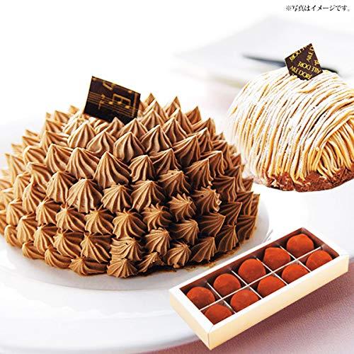 札幌 欧風 洋菓子 エルドール スイーツ 3点 セット ムース ショコラ チョコ 生トリュフ 山のモンブラン