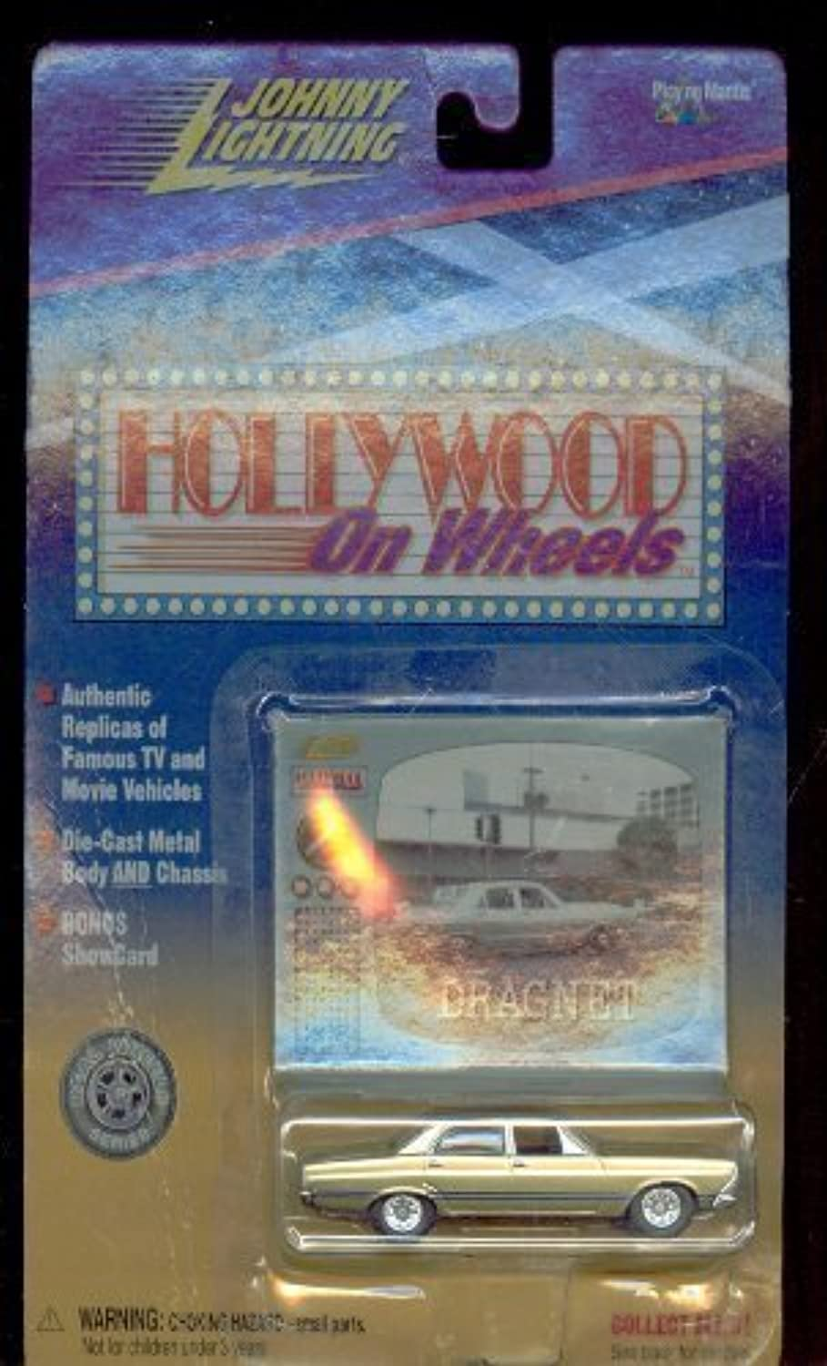 buscando agente de ventas Johnny Lightning Hollywood on on on Wheels Dragnet Police Coche 1 64 Scale by Johnny Lightning  alta calidad