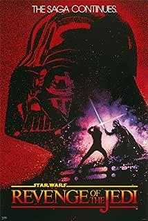 Star Wars: Episode VI - Revenge of The Jedi - Movie Poster (Original Teaser/Advance Design Artwork) (Size: 24 inches x 36 inches)
