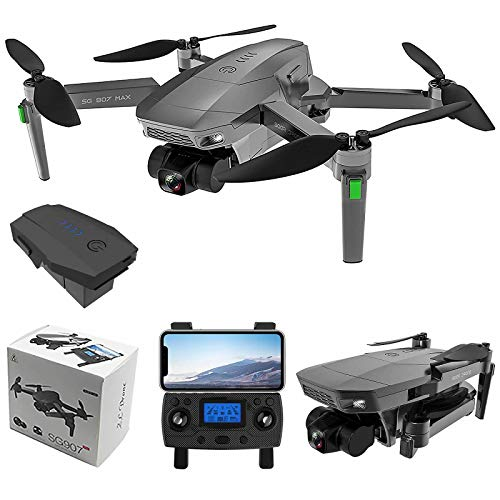 ZLL SG907 MAX 5G WiFi FPV GPS with 4K HD Camera Three-Axis Gimbal Brushless Foldable RC Drone (Include 1 Battery)