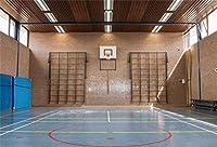 新しい屋内バスケットボールコートの背景7x5ftの学校のジムのインテリア写真の背景スポーツテーマ部屋の装飾子供大人ポートレートフォトスタジオ小道具デジタル壁紙