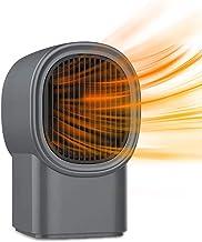 TYX-SS Calefactor Eléctrico, Bajo Consumo Mini Calefactor Baño, Calentador Habitación, Termostato Regulable, para Cuarto Baño Oficina