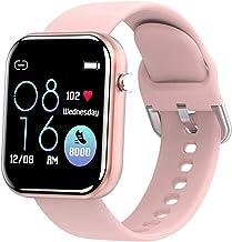 TIANYOU Smart Watch, 1.54 volledig touchscreen voor Android iOS Activity Tracker, Ip67 waterdicht, Bluetooth-berichtmeldin...