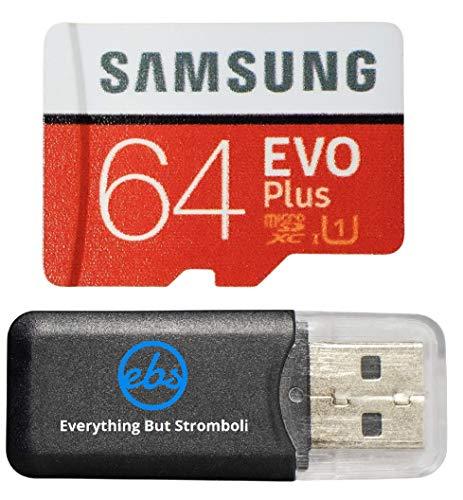 Samsung Galaxy S9Speicherkarte 64GB Micro-SDXC Evo Plus Class 10UHS-1S9Plus, S9+, Handy Smartphone mit Alles aber Stromboli (TM) Kartenleser (mb-mc64)