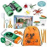 Tintec Kit de Juguetes de Exploración, Juguetes Al Aire con 24 Piezas, Niños de 3-10 Años de...