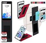 Hülle für Meizu M5c Tasche Cover Case Bumper | Rot |