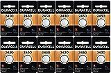 12-Pack Duracell 2430 Batteries 3.0 Volt Lithium Coin Button