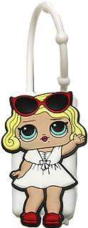 Hand Sanitizer Holder Cute Doll Face LOL Hand Sanitizer Holder for Backpack, For 1 oz Bottle Case (White)