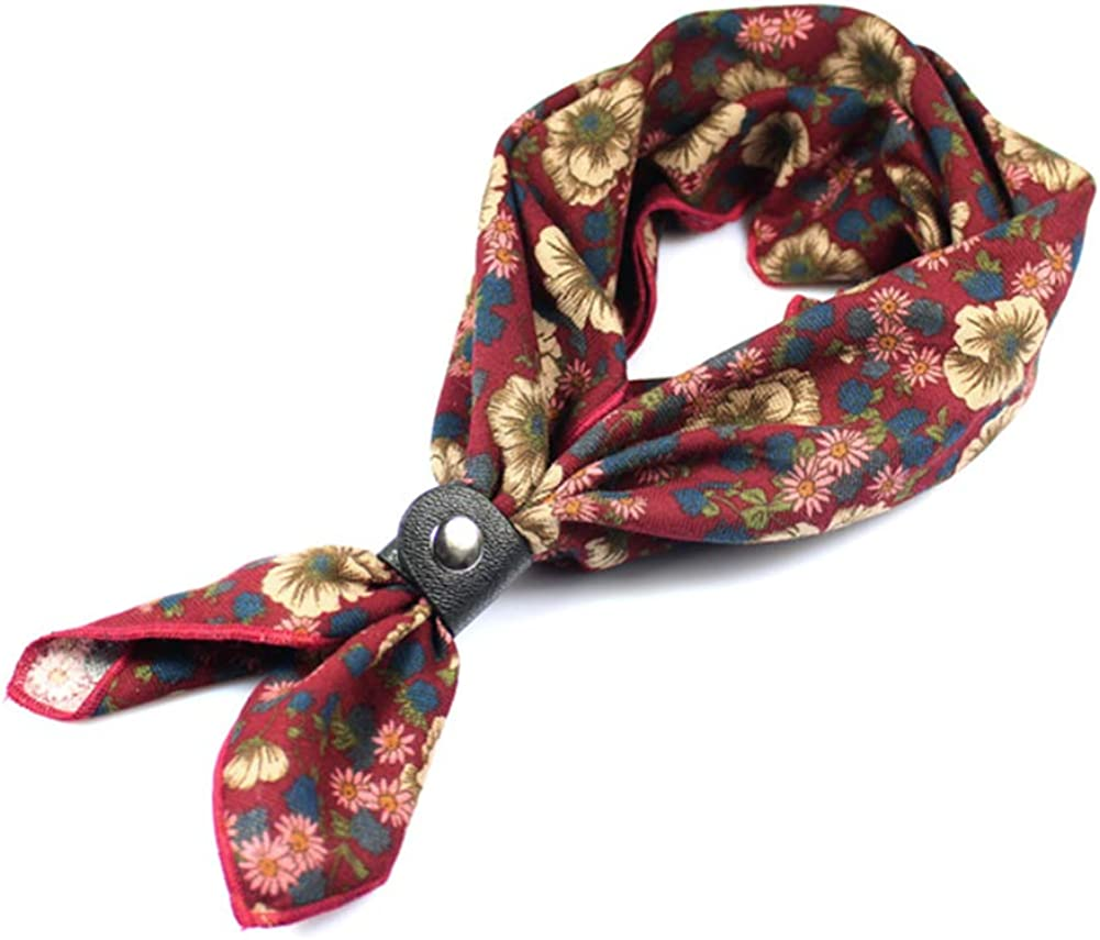 Neckerchief for Men 24''× Multicolored 24'' Ranking TOP13 Cotton low-pricing Patterned