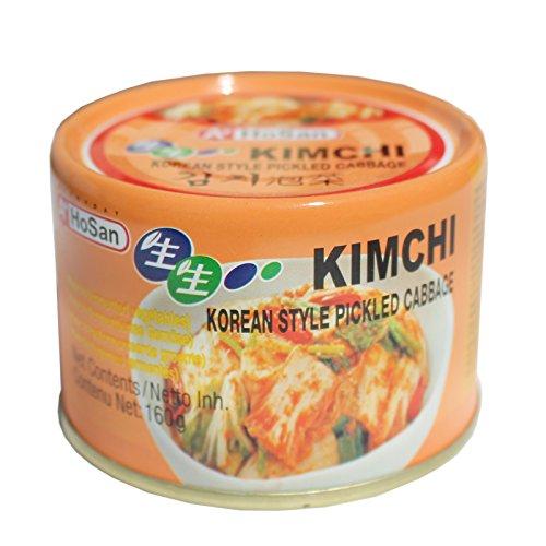 12x160g Hosan Kimchi eingelegtes fermentiertes Gemüse