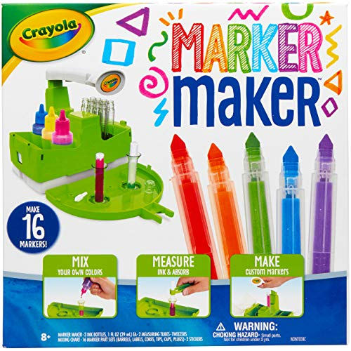 Crayola Marker Maker, DIY Craft Kit, Gift for Kids, 7, 8, 9, 10 $10