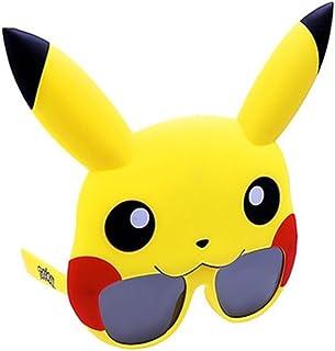 Costume Sunglasses Pokemon Pikachu Sun-Staches Party Favors UV400