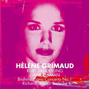 Brahms : Piano Concerto No.1 & Strauss, Richard : Burleske [Maestro]