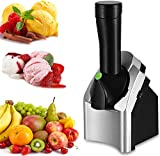 """【Healthy Goodness】You can instantly churn 100 percent frozen fruits to create a healthy vegan dessert without additional fat, sugar or preservatives compared to creat other """"ice cream"""" Or """"yogurt"""" Like treats. 【Upgraded Design】The upgraded design wit..."""