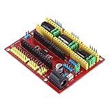 Placa de expansión CNC de 7.5-12v, motor paso a paso de metal plástico conector de alimentación Microdrive