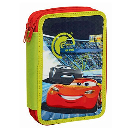 Jokeria Cars 3 - Disney - Portapastelli 2 zip con cancelleria