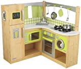 KidKraft New Limited Edition Wooden Lime Green Corner Kitchen