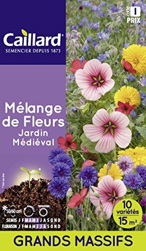 Caillard PFCD21414 Graines de Fleurs Mélange Médiéval 15 m²