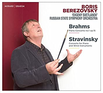 Brahms: Piano Concerto No. 1, Op. 15 - Stravinsky: Concerto for Piano and Wind Instruments (Live)