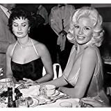 Poster Affiche Photo de Stars Célébrités Sophia Loren et