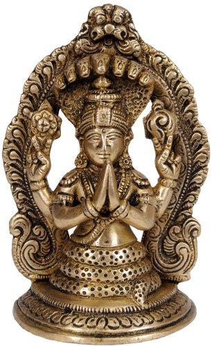 Exotic India Saint Patañjali–Laiton Statue