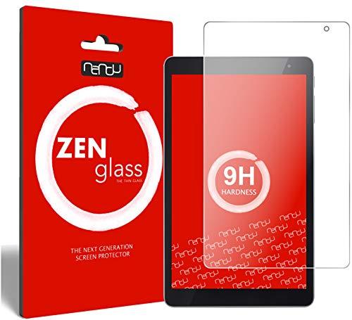 ZenGlass Flexible Glas-Folie kompatibel mit Vodafone Tab Prime 6 Panzerfolie I Bildschirm-Schutzfolie 9H