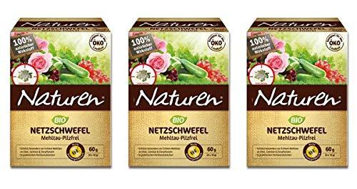 NATUREN Bio Netzschwefel Mehltau-Pilzfrei 180 g
