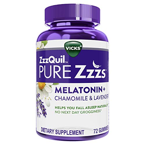 ZzzQuil Pure Zzzs, Melatonin Sleep Aid Gummies...