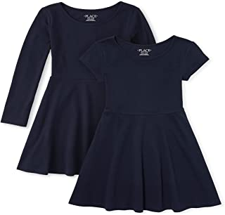 The Children's Place girls Pleated Dresses, Pack of Two Dress