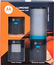 Motorola Hybrid Lantern Kit LUMO160 Modular Light Bluetooth Speaker MSL160TP