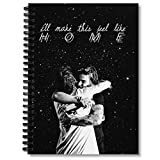 Spiral Notebook Larry Stylinson Hug Composition Notebooks Journal With Premium Thick Hexagon Paper Paper