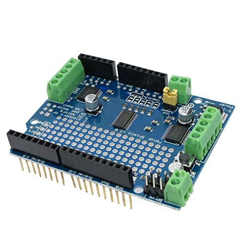 HiLetgo TB6612 MOSFET for Arduino Motor Shield Standard IIC I2C TB6612FNG Stepper Motor PCA9685 PWM Servo Driver Shield V2 Robot PWM Uno Mega R3 Replace L293D