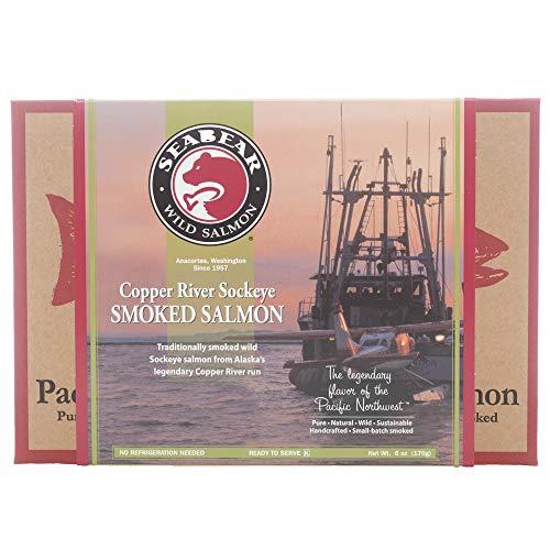 SeaBear - Copper River Smoked Sockeye Salmon - 6oz