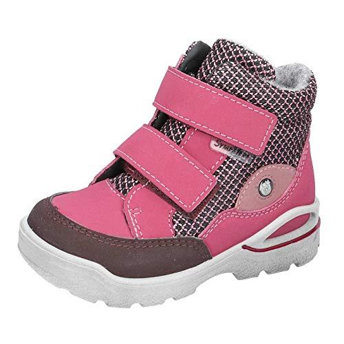 Pepino Bottes avec fermeture Velcro pour fille - Rose - rose bonbon, 22 EU