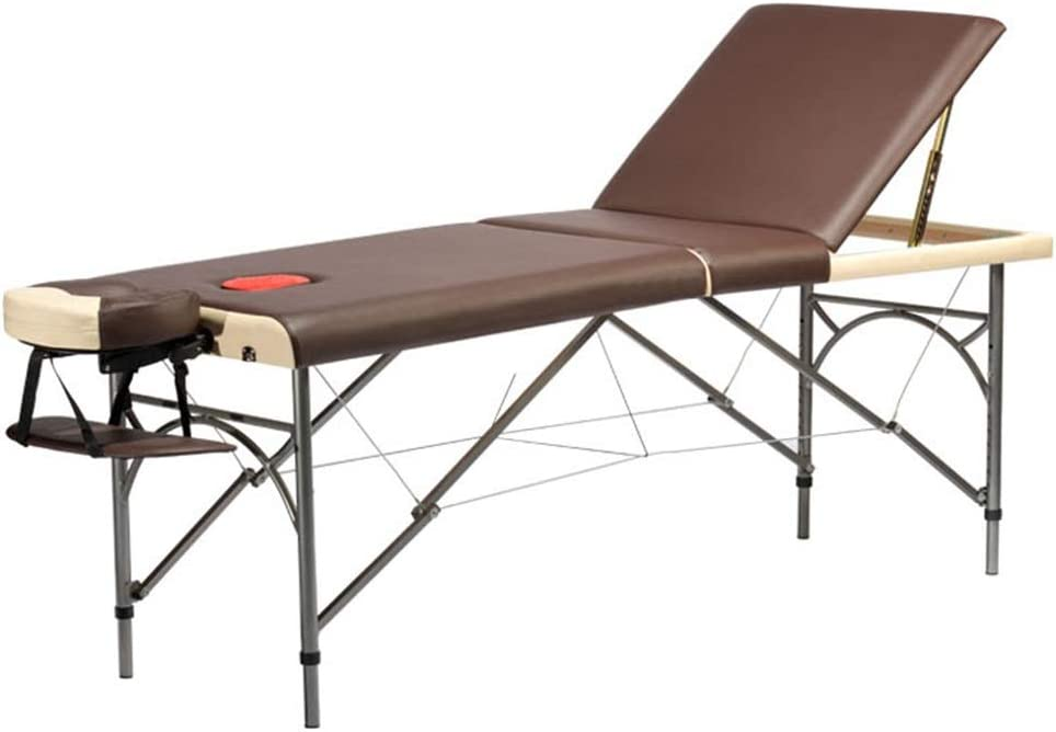 YCDJCS Special price Salon Spa Tables 3-Section B Table Great interest Beauty Couch Massage