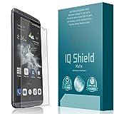 IQ Shield Matte Screen Protector Compatible with ZTE Axon 7 (ZTE Axon 7 Premium Edition) Anti-Glare Anti-Bubble Film