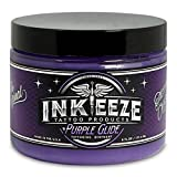 INK-EEZE Purple Glide Non-Petroleum Tattoo Ointment 6oz Jar
