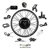 "EBIKELING 48V 1200W 26"" Fat Direct Drive Waterproof Electric Bicycle Rear Wheel Ebike Conversion Kit (Rear/LCD/Twist)"