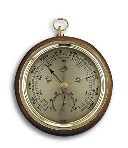 TFA 45.1000.01 Barometer, Eichenholz-Rahmen, 108mm