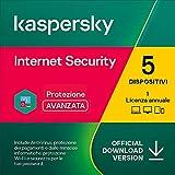 Kaspersky Internet Security 2021 | 5 Dispositivi | 1 Anno | PC / Mac / Android | Codice d'attivazione via...